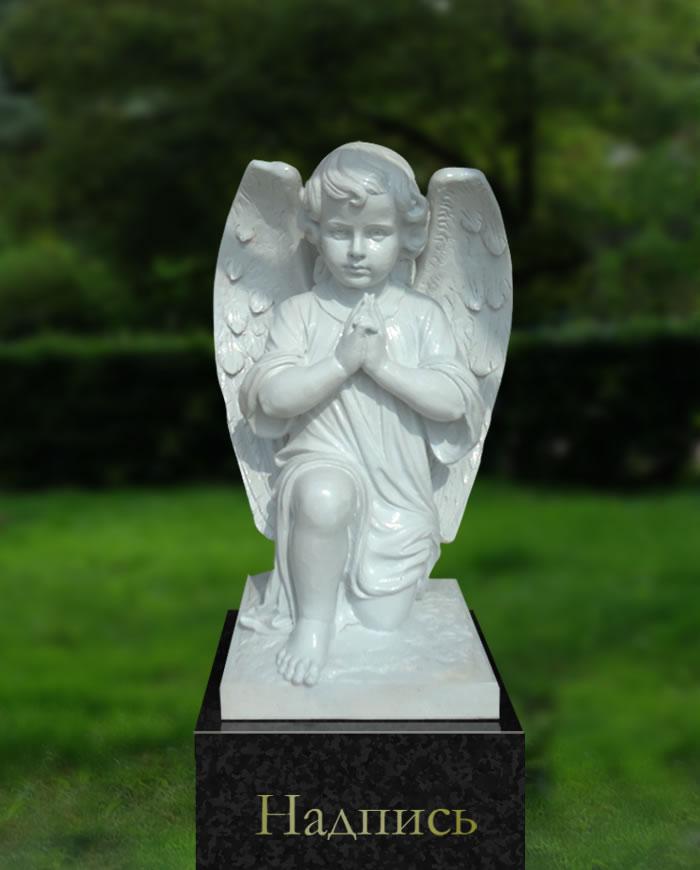 Памятники ангелочек надгробие херувим слова памяти на надгробие